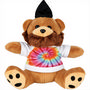 6 inch Plush Hipster Bear with Shirt