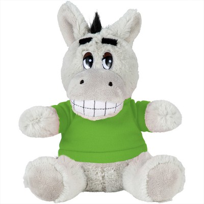 Picture of 6 inch Plush Donkey with Shirt