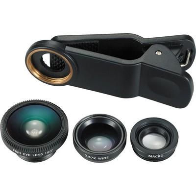 Picture of 3-in-1 Clip-on Phone Lens Set