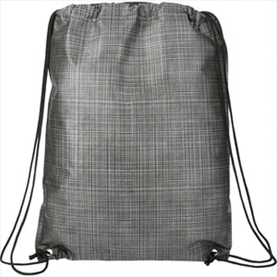 Picture of Crossweave Heat Sealed Drawstring Bag
