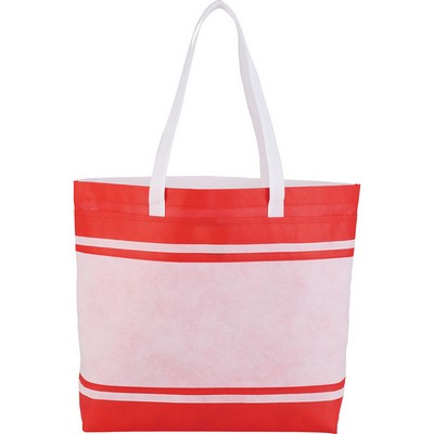 Picture of Non-Woven Stripes Tote