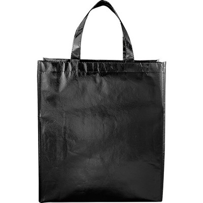 Picture of Metallic Laminated Shopper Tote
