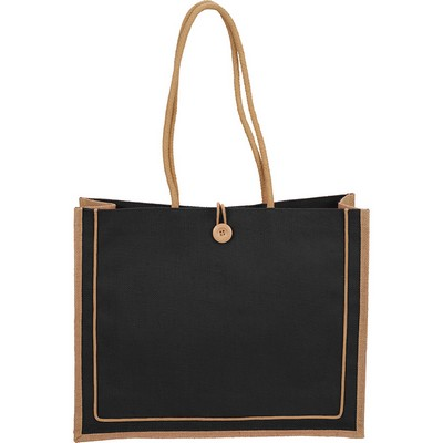 Picture of Jute Button Tote