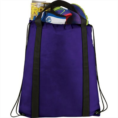 Picture of Grab Non-Woven Drawstring Bag