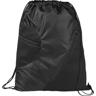 Picture of Zippered Mesh Drawstring Sportspack