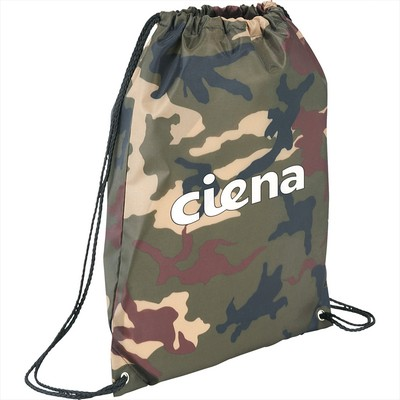 Picture of Camo Oriole Drawstring Bag