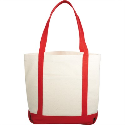 Picture of 10 oz. Cotton Casablanca Boat Tote