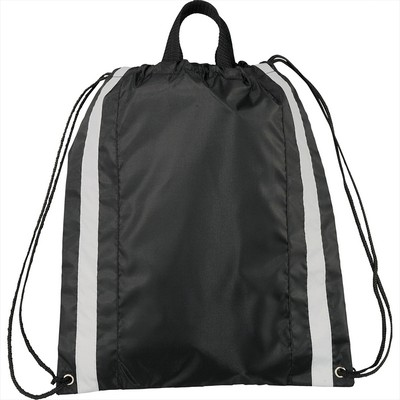 Picture of Small Reflective Drawstring Bag