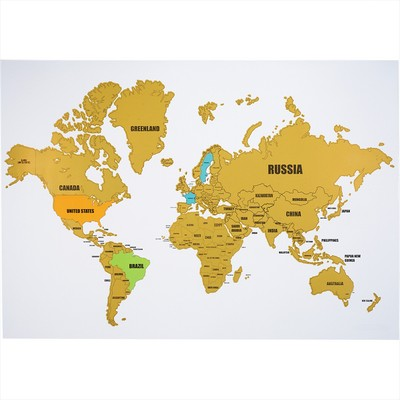 Picture of Wanderlust World Scratch Map