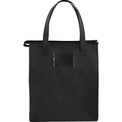 Picture of Deluxe Non-Woven Insulated Grocery Tote
