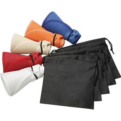 Picture of Beachcomber Roll-Up Sun Visor with Pouch