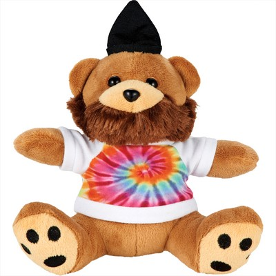 Picture of 6 inch Plush Hipster Bear with Shirt