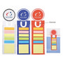 PP Sticky Notes with Bookmark & Ruler