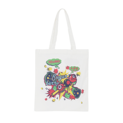 Picture of 170gsm Sublimation Long Handle Cotton BagBags