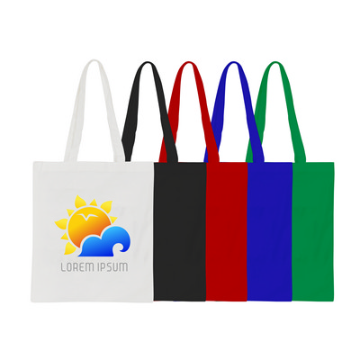 Picture of 170gsm Long Handle Cotton Bag