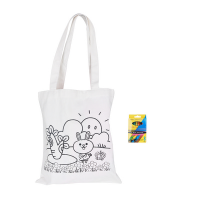 Picture of Large Colouring Bag with Crayons