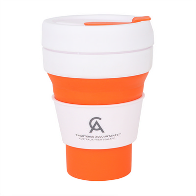 Picture of 355ml Collapsible Silicon Coffee Cup