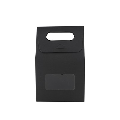 Picture of Die cut Handle Bag with Window(100x160x6