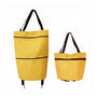 2 in 1 Collapsible Shopping Trolley Bag