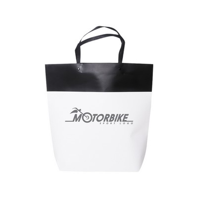 Picture of Large Black&White Boutique Paper Bag(380