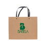 Medium Crosswise Paper Bag with Knitted