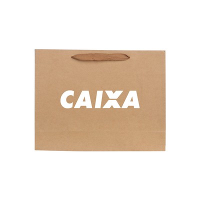 Picture of Small Crosswise Paper Bag with Rope Hand