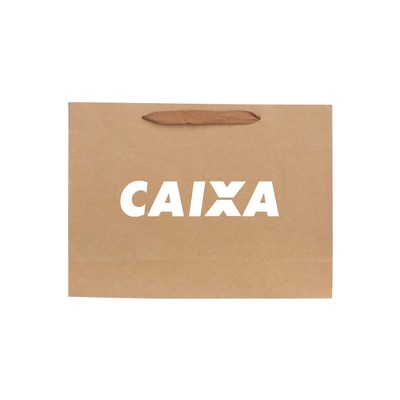 Picture of Medium Crosswise Paper Bag with Fabric F