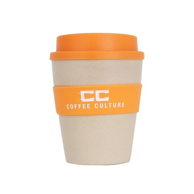Picture of 350ml Natural rice husk fibre Coffee Cup