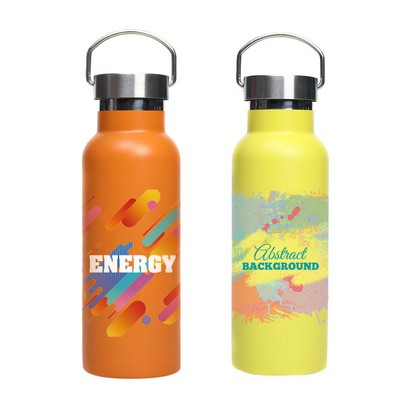Picture of 500ml Double Wall Vacuum Bottle with Sta