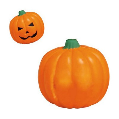 Picture of Pumpkin with Smiling Face Stress RelieverStress Items