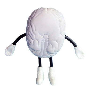 Picture of Brain with Hand And Leg Shape Stress Rel