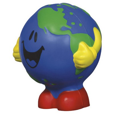 Picture of Cartoon Earth Shape Stress Reliever