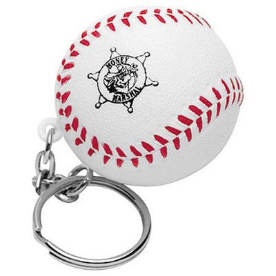 Picture of Baseball with Keyring Stress Item