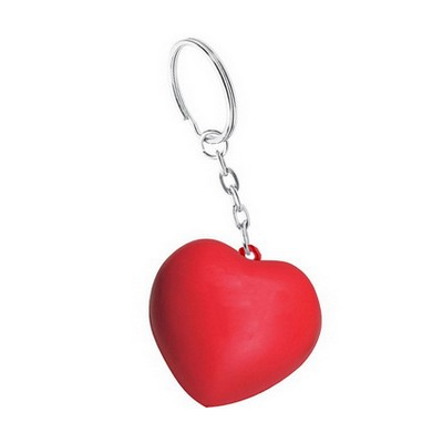 Picture of Heart with Keyring Stress Item