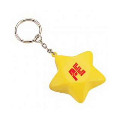 Picture of Star with Keyring Stress Item