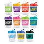Kick Cup Crystal  Silicone Band