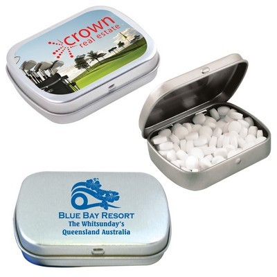 Picture of Sugar Free Breath Mints in Silver Tin