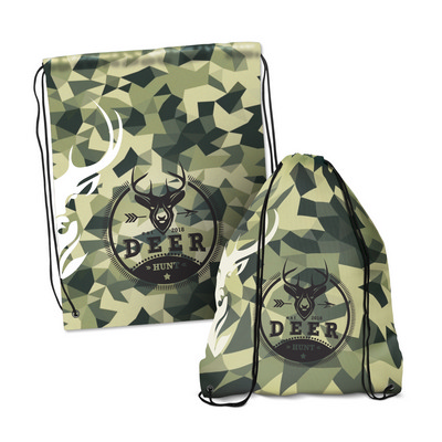 Picture of Drawstring Backpack - Full Colour