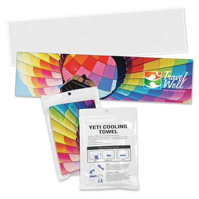 Picture of Yeti Premium Cooling Towel - Full Colour