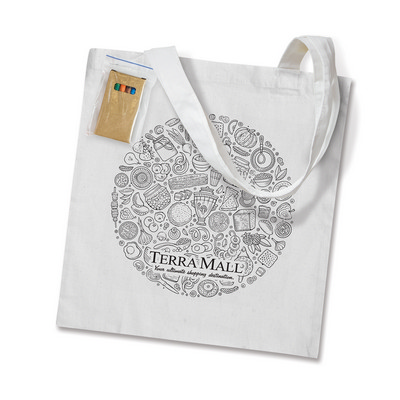 Picture of Sonnet Colouring Tote Bag