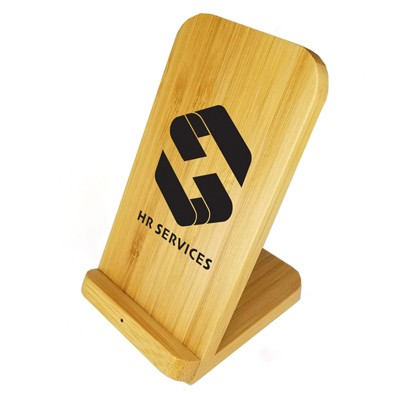 Picture of Stirling Fast Wireless Charge Bamboo Sta
