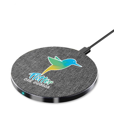 Picture of Tweed Wireless Charger - Round