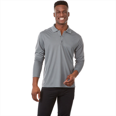 Picture of MORI Long Sleeve Polo - Mens