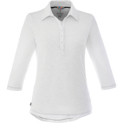 Picture of TIPTON Three Quarter Sleeve Polo - Womens