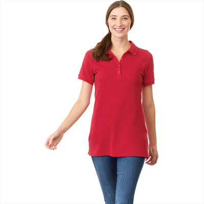 Picture of BELMONT Short Sleeve Polo - Womens