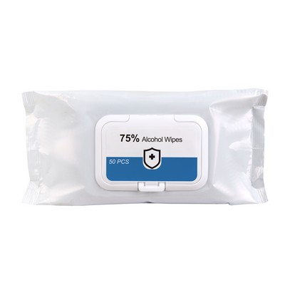 Picture of 75% Alcohol Wet Wipes - 50PC Pack