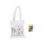 Medium Colouring Bag with Crayons