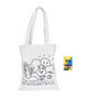 Large Colouring Bag with Crayons