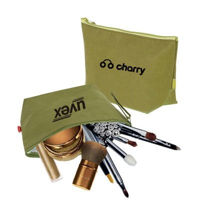 Picture of Washable Kraft Paper Cosmetic Bag(290x16