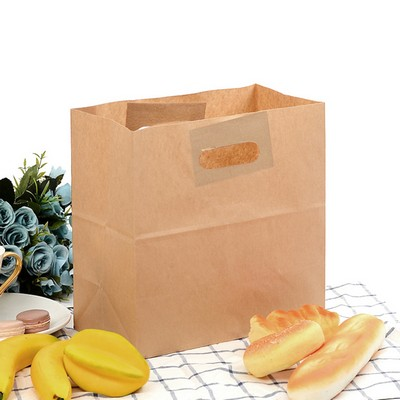 Picture of Die Cut Brown Kraft Paper Bag (280 x 280